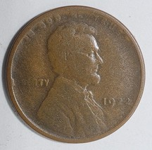 1922 No D Key Date LINCOLN PENNY CENT COIN LOT# E 324