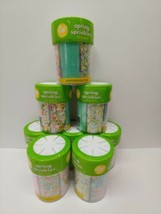 Lot of  8 Wilton Spring Medley Sprinkles 6.24 Ounces | Cupcakes | Cookies | Cake - $29.65