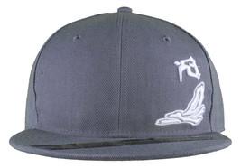 Dissizit Smoke Bowls Skateboard D Bones Ramp Grey Snapback Baseball Hat NWT image 2