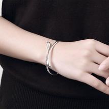 Women Wedding  925 Silver Drop Necklace Bracelet Earring Ring Fashion Jewelry Se image 4