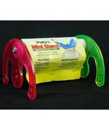 "Polly's Portable Small Bird Stand Rocker 1"" x 6"" Long Nail Trim Perch Ye... - $19.99"