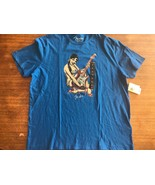 fender guitar tremolo Pin Up Girl Lucky 2 Sided T-shirt NWT New Large - $21.84
