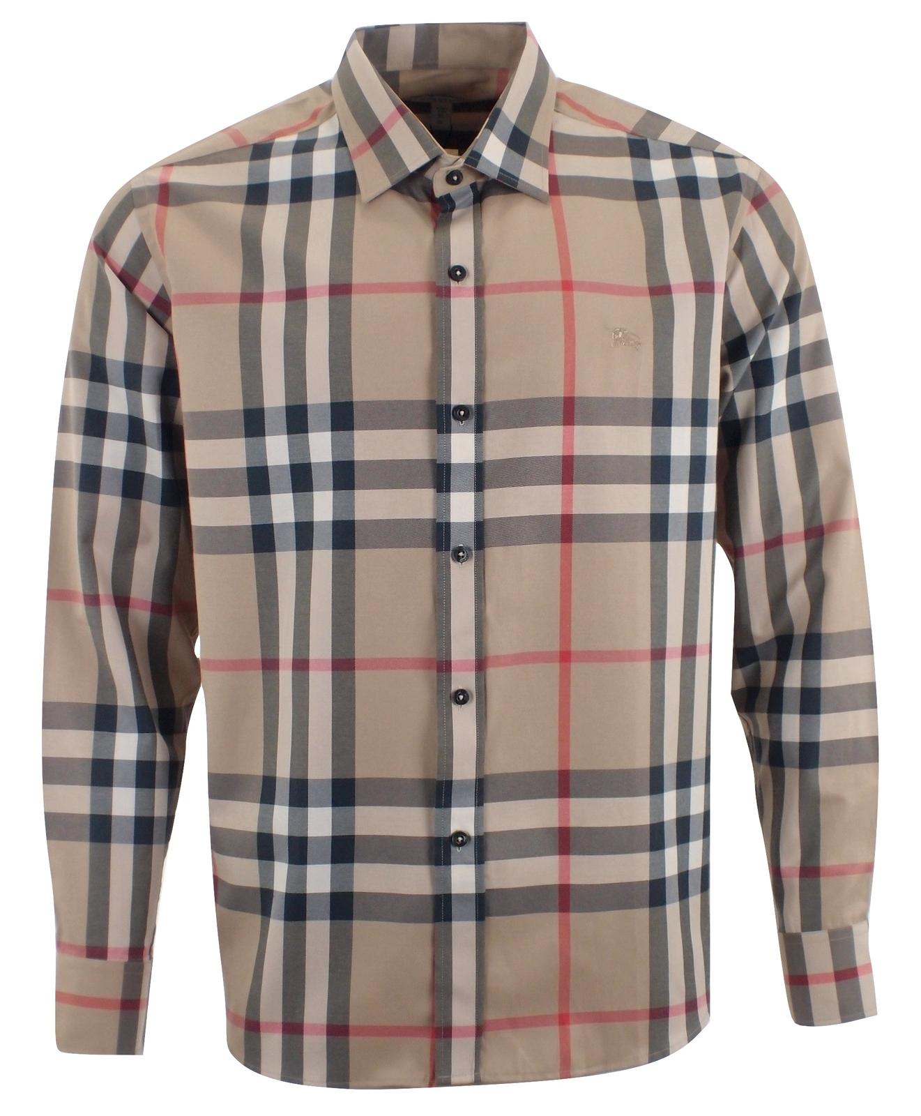 12d1a574 Burberry Brit Men's Long Sleeve 100% Cotton and 29 similar items. 1 pb070208