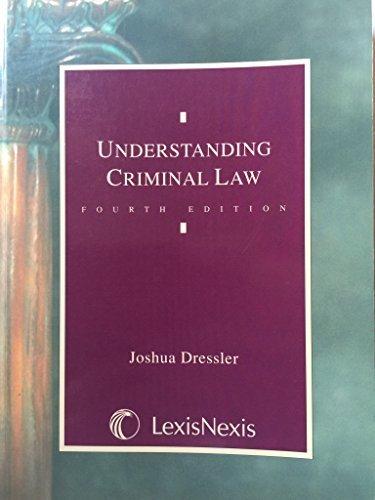 Understanding Criminal Law Dressler, Joshua