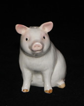 Otagiri Ceramic Pig Salt Shaker Pig Shaker Made in Japan Pig Figurine - $9.99