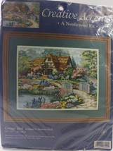 1999  Dimensions Creative Accents Needlepoint Kit #7929 Cotton Idyll - $29.70