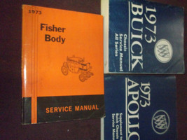 1973 Buick CENTURION LESABRE RIVIERA SKYLARK Service Repair Shop Manual ... - $158.35