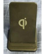 10W Qi CERTIFIED FAST WIRELESS CHARGING PAD - $8.01
