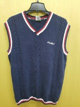 FUBU SPORTS The Collection V-neck Sweater Vest Men's Size Large Great Co... - $23.83