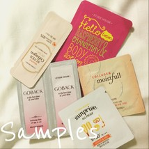 30-Piece Korean Skincare Foil Single Use Samples - $40.00
