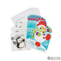 Snowman Invitations - 8 pcs. - $0.96
