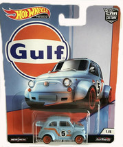 Hot Wheels Gulf Racing '60s Fiat 500D Modificado Car Culture 2019 956G 1 of 5