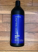 Matrix Total Results Brass Off Color Obsessed Shampoo 33.8oz - $24.54