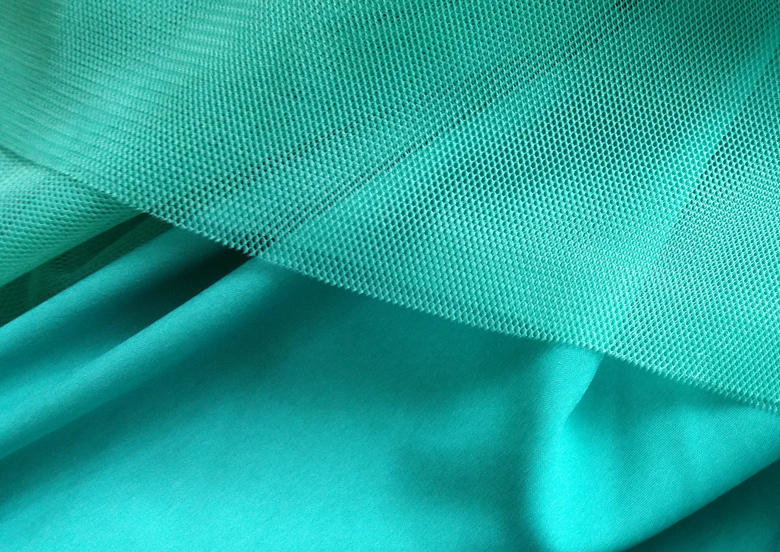 Maxi tulle skirt wedding green 60a 6