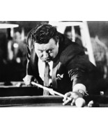 Jackie Gleason The Hustler 16x20 Canvas Giclee With Pool Cue Classic - $59.99