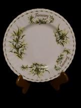 Royal Albert January Snowdrops Flower Of Month Bone China Salad Plate England - $18.99