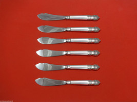 Danish Baroque by Towle Sterling Silver Trout Knife Set 6pc HHWS  Custom Made - $419.00