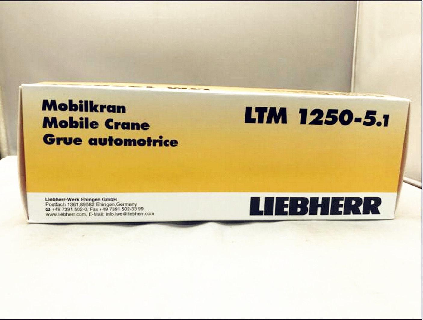 1/87 HO Tonkin Liebherr LTM 1250-5 1 and 50 similar items
