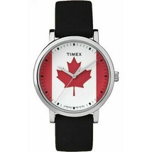 Timex TW2P88000 Unisex Black Silicone Band with Multicolor Analog Dial W... - $23.95