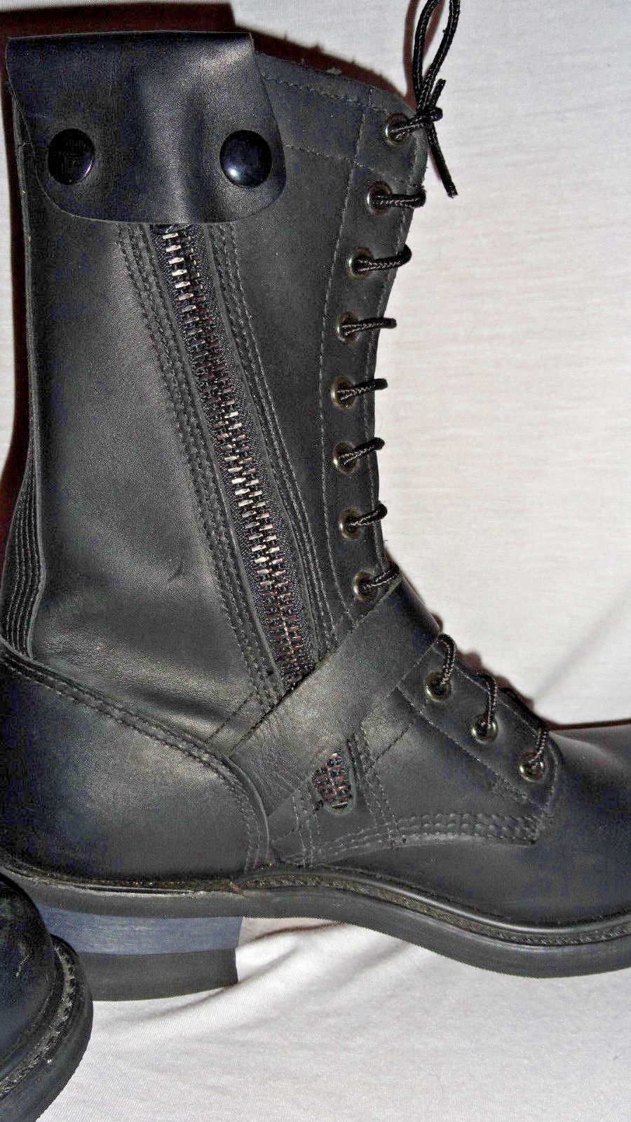 Double H Leather Black Mens Lacer Boots US and 50 similar items