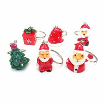 VOILEY® Christmas Santa Claus Keychain Pendant Christmas Decoration For ... - $2.67+