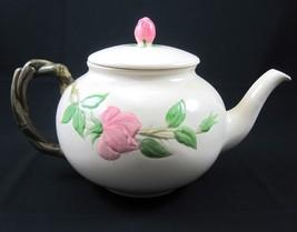 Franciscan China Desert Rose Teapot Tea Pot USA Brown TV Stamp Vintage 1... - $69.99