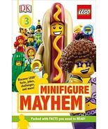 DK Readers Level 3: LEGO Minifigure Mayhem: Discover LEGO facts, jokes, ... - $4.95