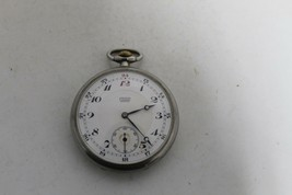 Rare Antique Vintage Old Swiss Longines Made Open Face Pocket Watch. - $239.68