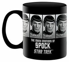 Aquarius Star Trek Emotions of Spock 11 oz Boxed Ceramic Mug - £15.06 GBP
