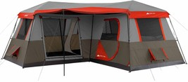 12 Person Instant Cabin Tent 3 Room L-Shaped Outdoor Camping Hiking Picn... - $386.09