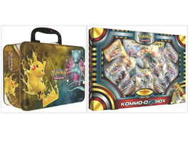 Pokemon Kommo-O GX Collection Box & Shining Legends Collectors Chest Tin... - $54.99