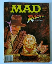 MAD Magazine April 1991 #302 Raiders Of The Lost Ark Harrison Ford All In Family - $22.28