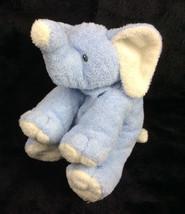 "Ty Pluffies Blue Elephant Winks 2006 Baby Plush Tylux Stuffed Animal 8"" - $38.62"