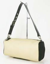 Authentic PRADA Beige Nylon Tote Hand Bag Purse #33299A - $229.00