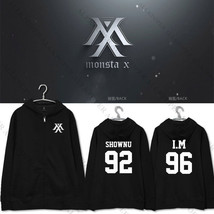 KPOP Monsta x THE CLAN PART.2 GUILTY Zipper Hoodie Unisex JOOHEON Sweate... - $14.84