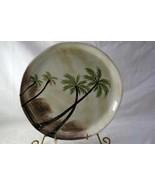 "Tabletops Bahamas Palm Dinner Plate 11 1/8"" - $8.31"