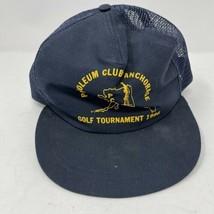 Vintage 1986 Petroleum Club Of Alaska Snapback Hat - $14.84
