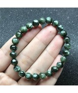 Top 6mm Natural Green Seraphinite Bracelet For Woman Man Anniversary Cry... - $54.53