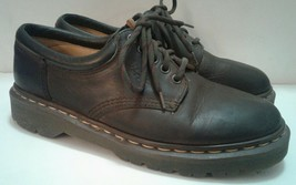 Doc Martens 8053 Mens Shoes US 7 Brown Leather Lace Up Oxfords England Dr. - $22.34