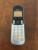 Panasonic 2 Handset Cordless Phone System with answering machine KX-TGC220 *USED image 4