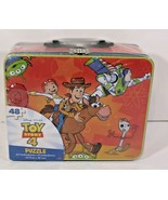 DISNEY-PIXAR Toy Story 4 Tin Lunch Box with 48-piece Puzzle  SEALED - $9.49