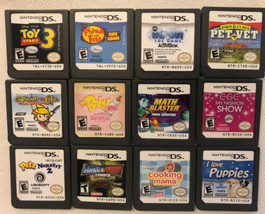 Nintendo Ds Games Lot Of 12 Cartridges Only - $26.17