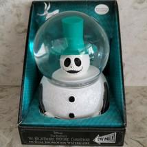 Disney Nightmare Before Christmas Jack Musical Snomotion Waterglobe NEW - $40.64
