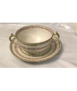 GDA Limoges Coffee Cup And Saucer France - $14.85