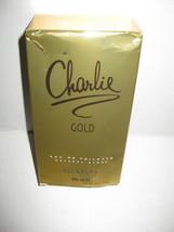 Charlie Gold by Revlon Perfume EDT 3.4 oz Eau de Toilette Damaged Box - $10.99