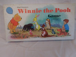 Disney Winnie The Pooh Parker Brothers Board Game Disney complete Vintage 1964 - $22.79