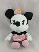 "Disney Parks Minnie Mouse Plush 9"" Pink Dress Hat Stuffed Animal toy - $14.95"