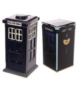 Police Theme Piggy Bank, Ceramic Police Box Design Money Box, Coin Savin... - $23.49