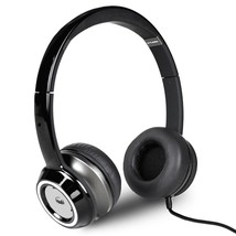 Monster N-Tune High Performance On-Ear Headphones w/3.5mm Plug(Gloss Black) - $38.26