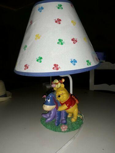 Rare  Adorable Disney Winnie the Pooh and Friends  Lamp Tigger piglet Eeyore